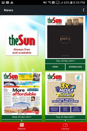 SUN News Paper